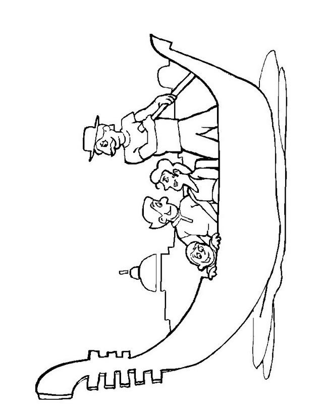 Nave e barca da colorare 20