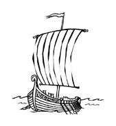 Nave e barca da colorare 25