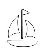 Nave e barca da colorare 32