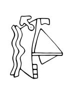 Nave e barca da colorare 34