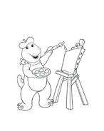 Barney da colorare 73
