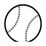 Baseball da colorare 6