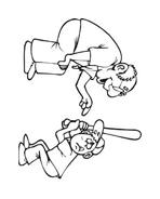 Baseball da colorare 10