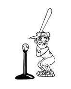 Baseball da colorare 16
