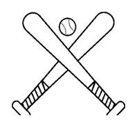 Baseball da colorare 20