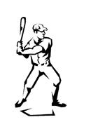 Baseball da colorare 21
