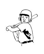 Baseball da colorare 24