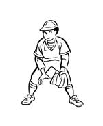 Baseball da colorare 27