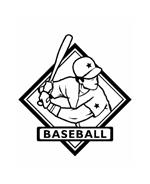 Baseball da colorare 33