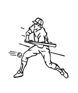 Baseball da colorare 47