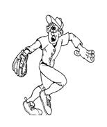 Baseball da colorare 59