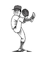 Baseball da colorare 62