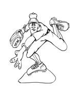 Baseball da colorare 67