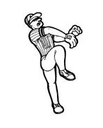Baseball da colorare 71