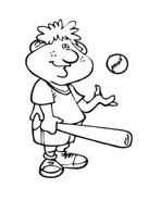 Baseball da colorare 80