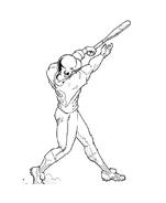 Baseball da colorare 83