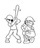 Baseball da colorare 90