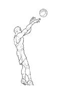 Basketball da colorare 2