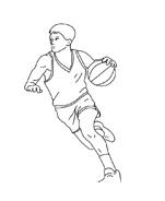 Basketball da colorare 3