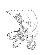 Batman da colorare 2