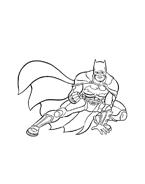 Batman da colorare 3