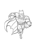 Batman da colorare 5