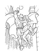 Batman da colorare 6