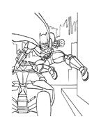 Batman da colorare 8