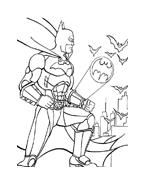 Batman da colorare 16