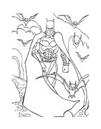 Batman da colorare 18
