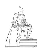 Batman da colorare 21