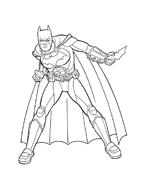 Batman da colorare 25