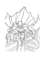 Batman da colorare 27