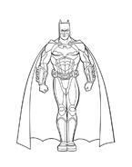 Batman da colorare 32