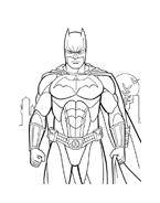 Batman da colorare 34
