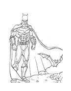 Batman da colorare 36