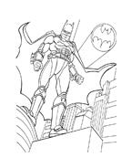 Batman da colorare 39
