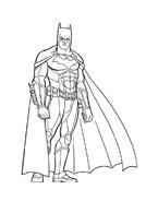 Batman da colorare 44