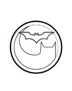 Batman da colorare 45