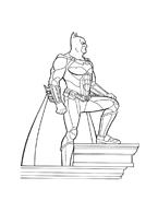 Batman da colorare 47