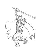Batman da colorare 48