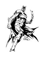 Batman da colorare 56
