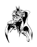 Batman da colorare 57