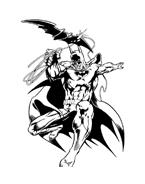 Batman da colorare 61