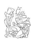 Batman da colorare 63