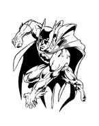 Batman da colorare 72