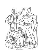 Batman da colorare 88