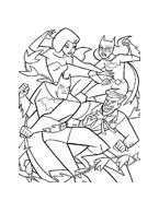 Batman da colorare 89