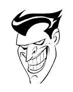 Batman da colorare 91