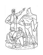 Batman da colorare 93